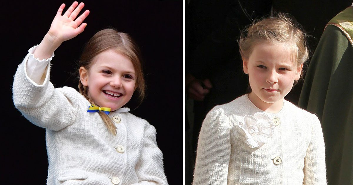Estelle i Ingrid Alexandras jacka