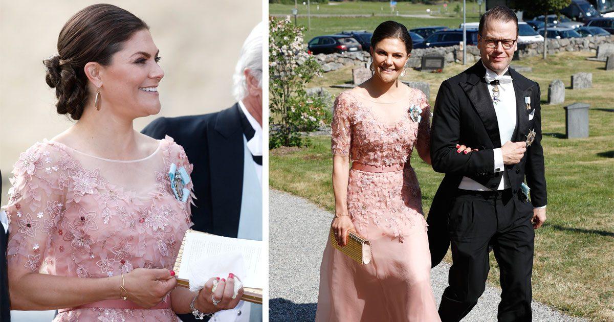 Kronprinsessan Victorias i ny galaklänning från Jenny Packham