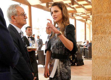 Nya bilder på drottning Rania...