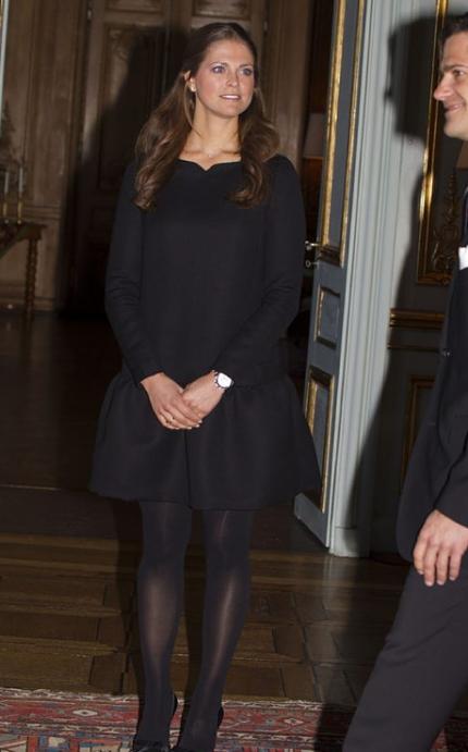 Madeleines klänning - från Victoria Beckham