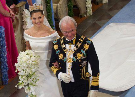 Kungliga brudklänningar - vilken är din favorit
