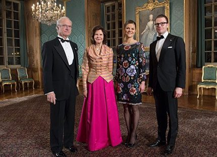 Kronprinsessan Victoria i Matthew Williamson