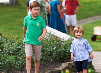 Prins Christian i Ralph Lauren