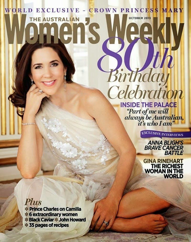Mary på omslaget