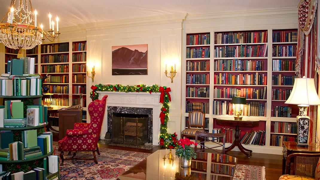 Julstämning i Vita huset!