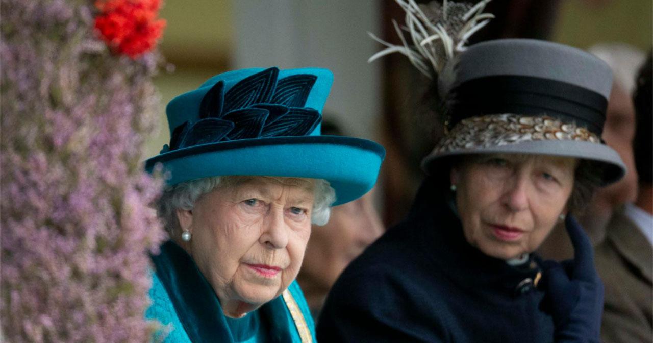Drottning Elizabeth på Highland Games 2018