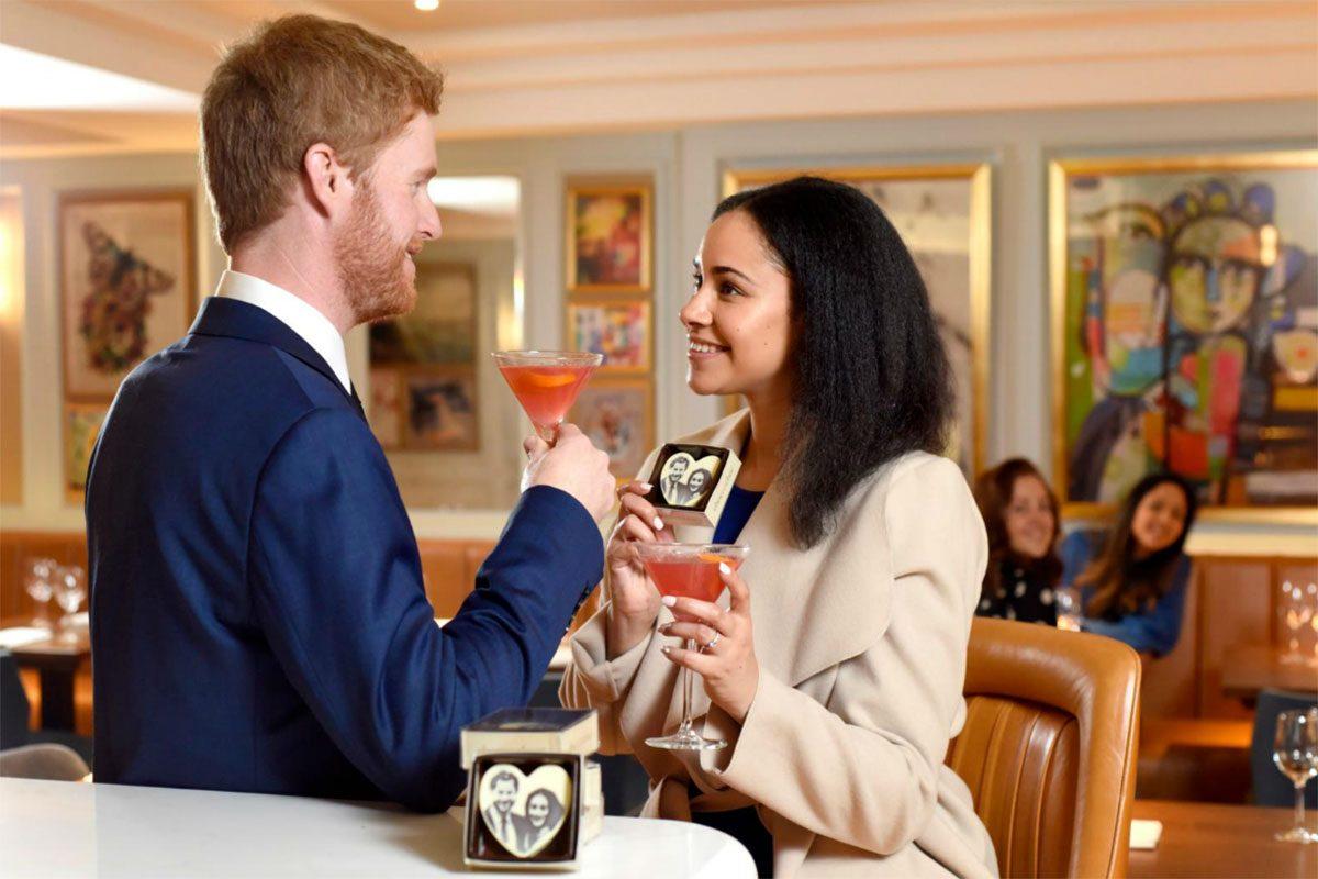 Prins Harrys och Meghan Markles dubbelgångare