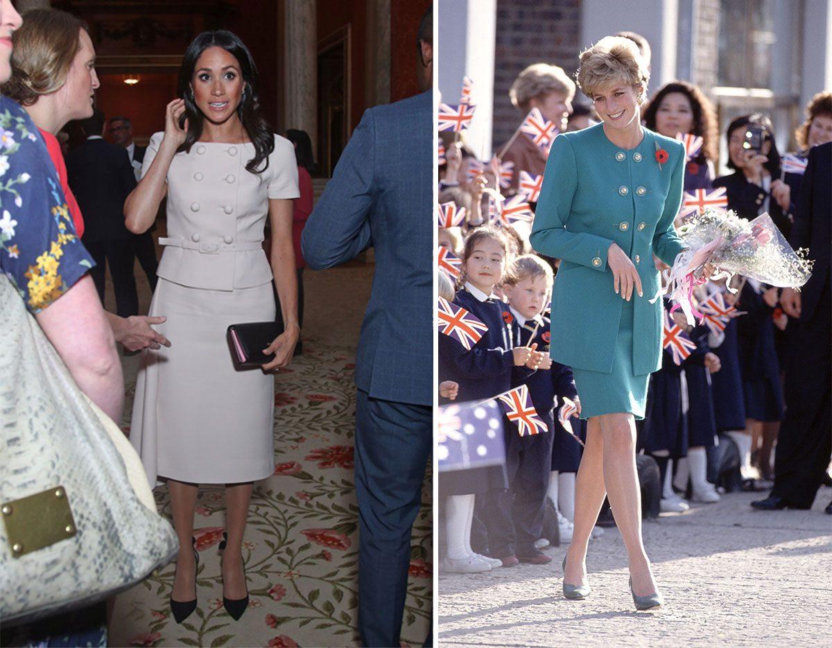 Meghan tar efter Dianas stil