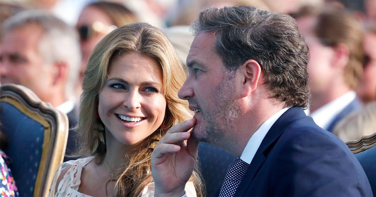 Prinsessan Madeleine och Chris i Borgholm